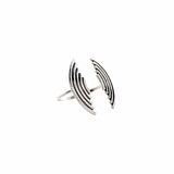 Desert Wave Open Cuff (View More Colors) - ANTIQUE SILVER - The 2 Bandits - 2