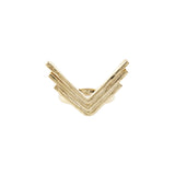 Triple Arrow Ring (View More Colors) - 22K GOLD PLATED - The 2 Bandits - 4