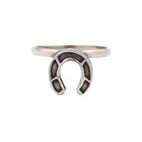 Wild Horses Ring - ANTIQUE SILVER - The 2 Bandits - 1