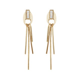 Topanga Earrings (view more colors) - 14K GOLD PLATED / SIMULATED OPAL - The 2 Bandits - 2