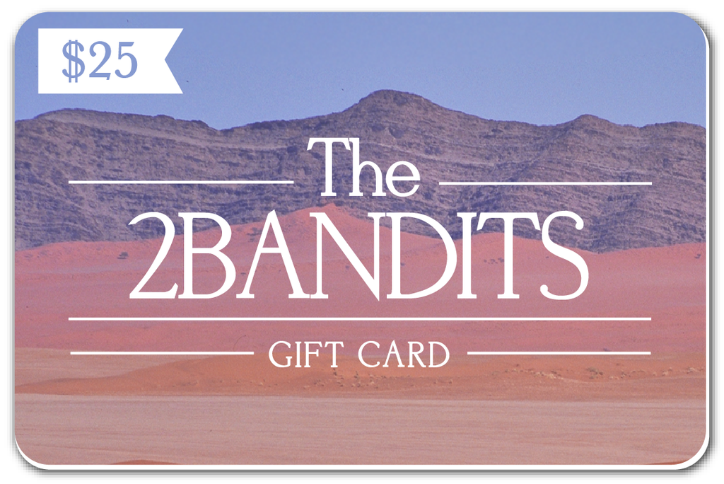 Gift Card -  - The 2 Bandits - 1