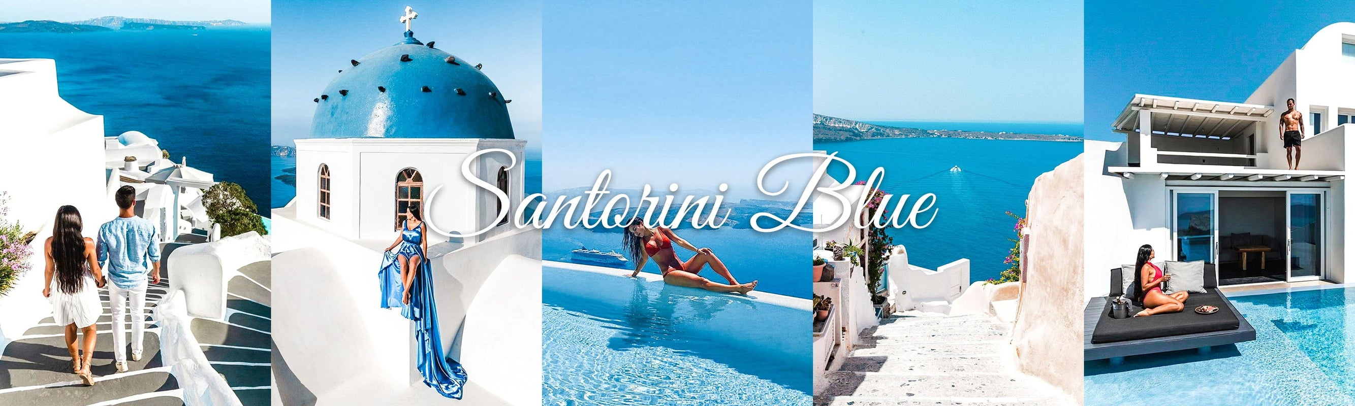 Santorini Blue Lightroom Presets For Mobile And Desktop