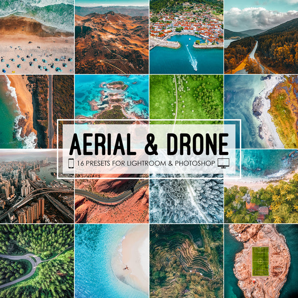 Aerial Presets, Drone Photography, DJI Mavic and Phantom Lightroom Presets