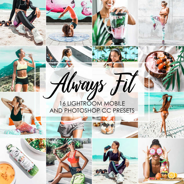 Always Fit Lightroom Presets For Fitness, Sports, Workout, Gym And Healthy Life And Lifestyle