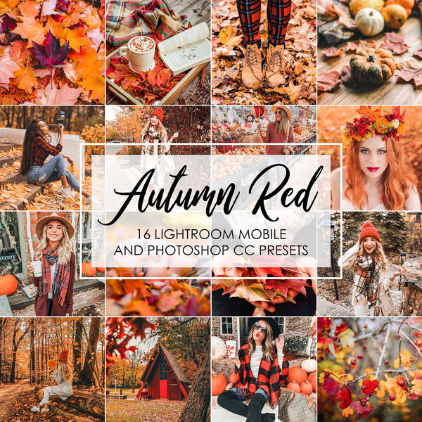 Autumn Red Lightroom Presets For Mobile And Desktop