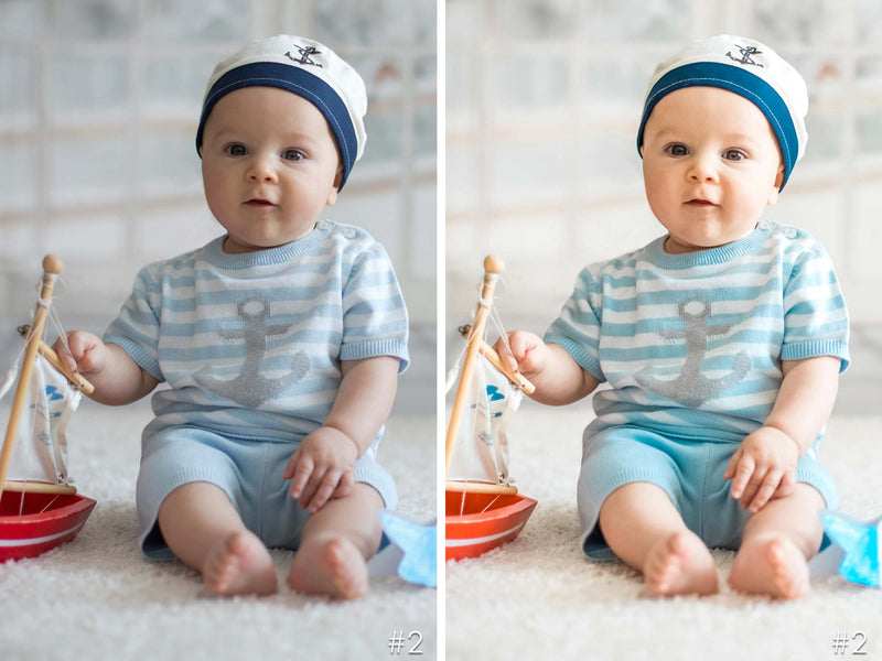Baby Boy Newborn Photography Lightroom Presets