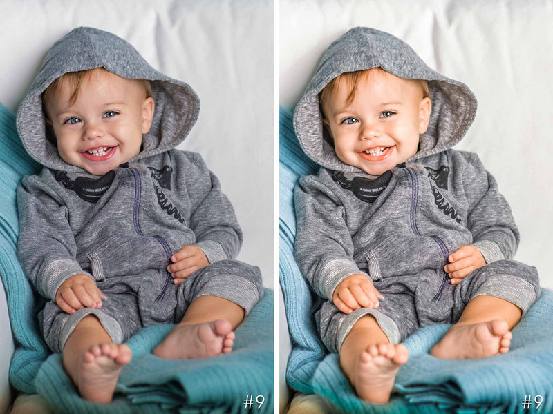 Baby Boy Presets For Adobe Lightroom Mobile, CC and Photoshop