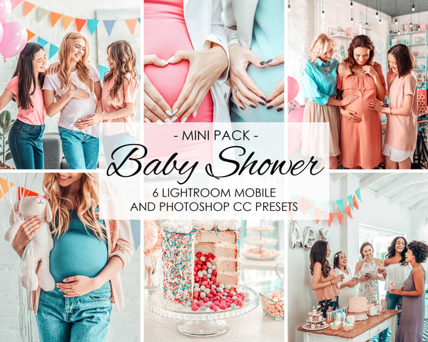 Baby Shower Presets For Happy Mothers in Lightroom Mobile