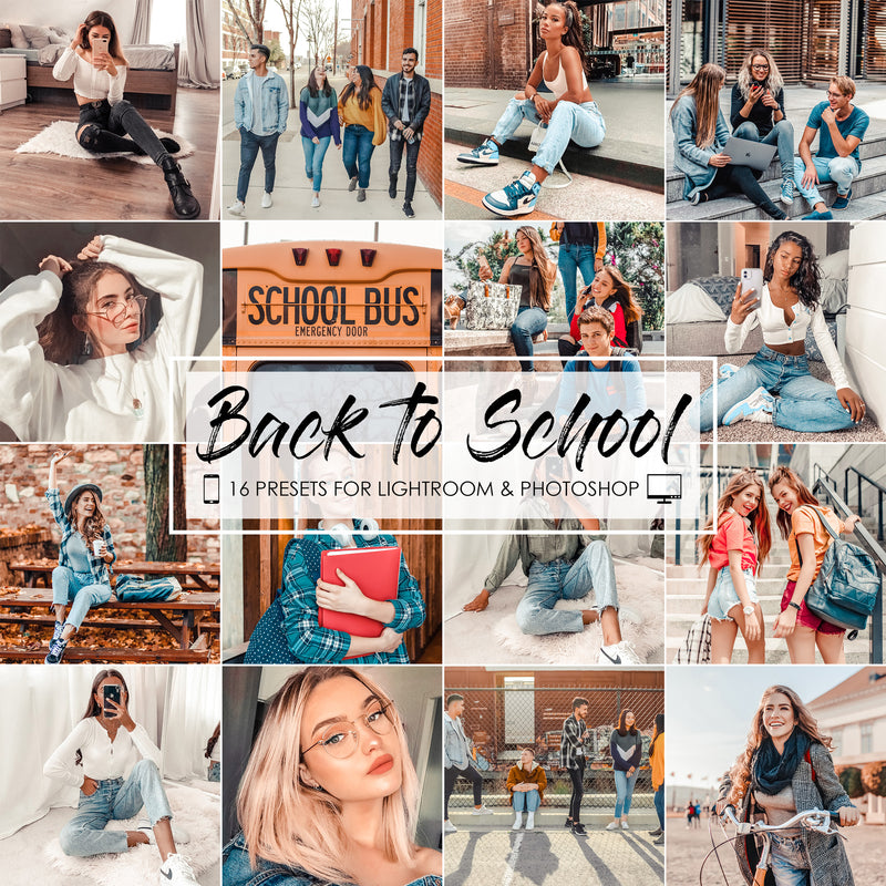 Back To School Lightroom Presets And Filters