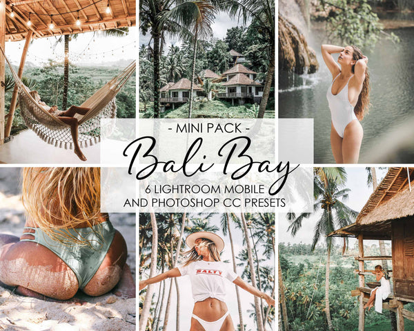 Bali Bay Presets For Adobe Lightroom And Photoshop