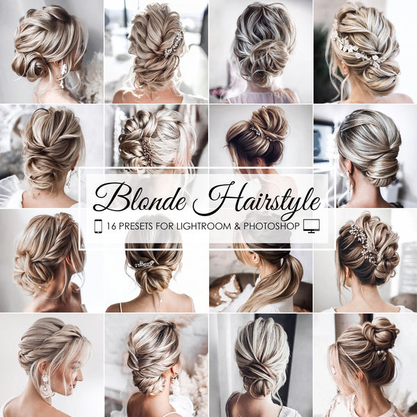 Blonde Hairstyle Lightroom Presets For Mobile and Desktop