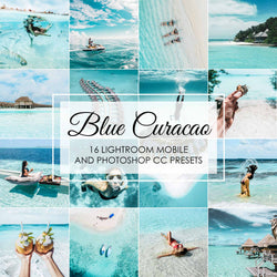 Blue Curacao - Aqua Turquoise Presets for Instagram Travel Photos