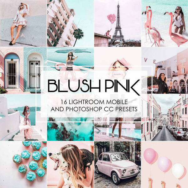Blush Pink Lightroom Presets