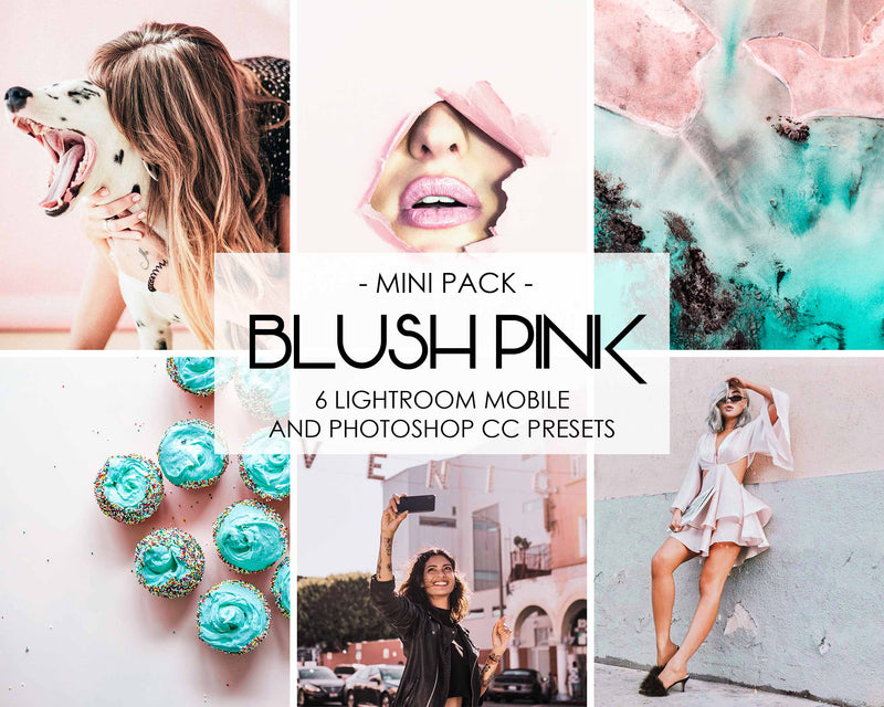 Blush Pink Lightroom And Photoshop Presets