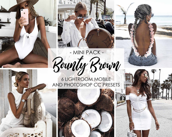 Bounty Brown Lightroom Preset With Bright And Airy Tones
