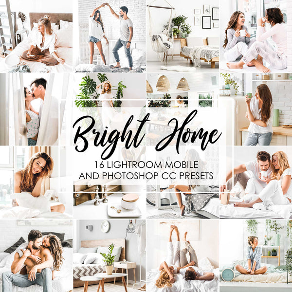 Bright And Airy Home Clean Presets For Lightroom Classic And Mobile