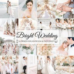 Bright Wedding Lightroom And Photoshop Presets