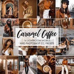 Caramel Coffee Presets For Lightroom