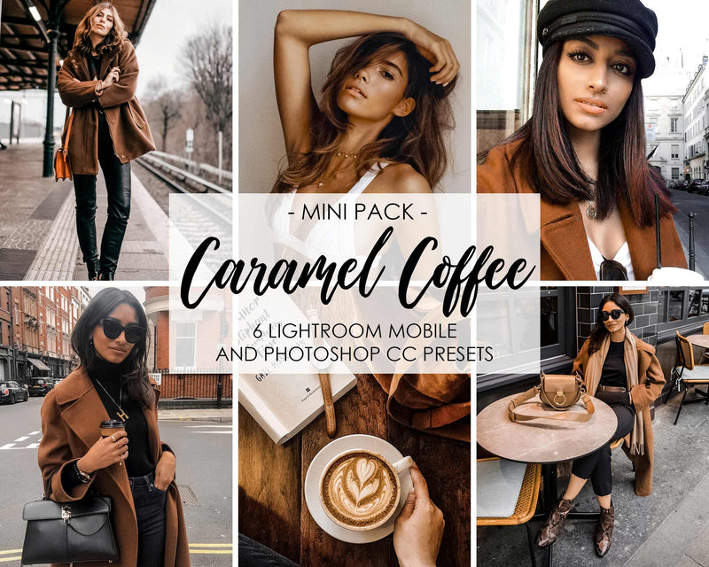 Caramel Coffee Lightroom Presets For Mobile And Desktop