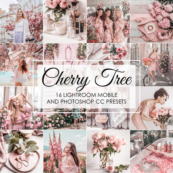 Cherry Tree Spring Presets For Lightroom Mobile and Desktop