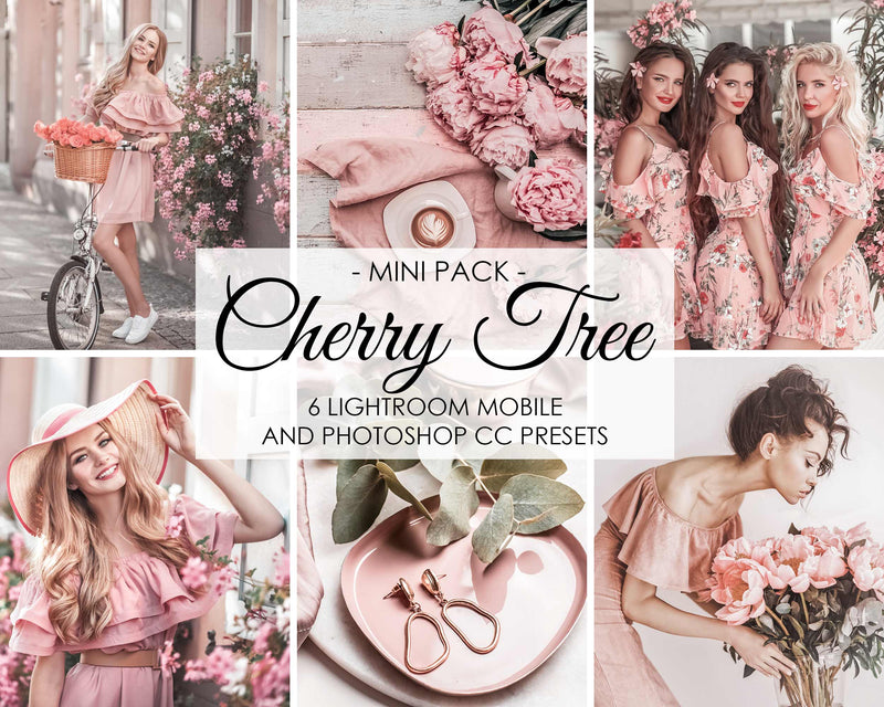 Cherry Tree Spring Lightroom Presets and Photoshop Filters