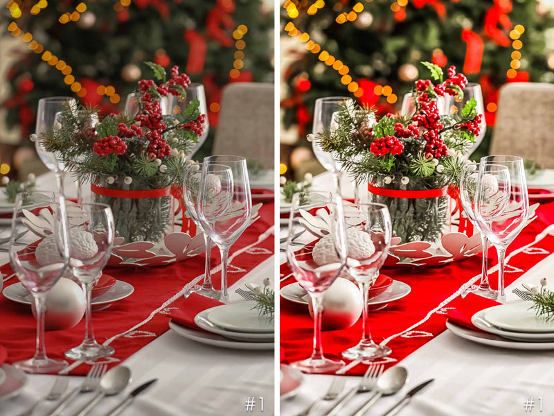 Christmas Eve Presets For Photoshop And Lightroom CC