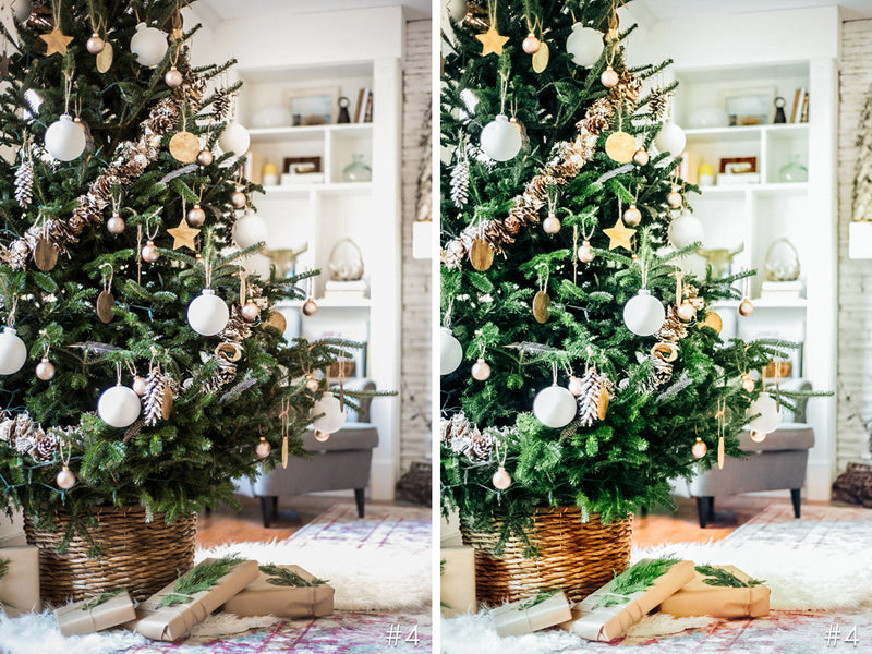 Christmas Tree Presets for Lightroom and Photoshop