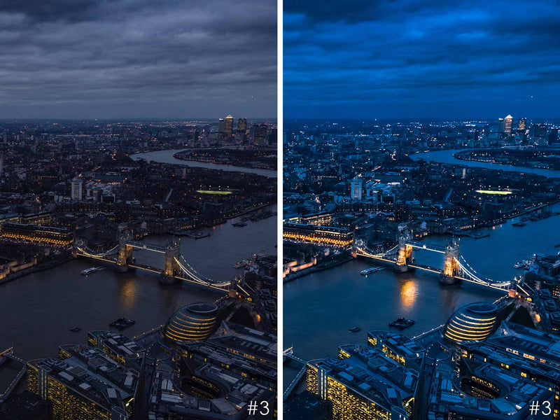 City Nights Presets For Lightroom And Photoshop