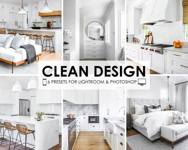 Clean Design Real Estate Lightroom Presets For Mobile And Desktop
