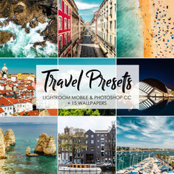 Travel Presets - Lightroom Mobile Presets