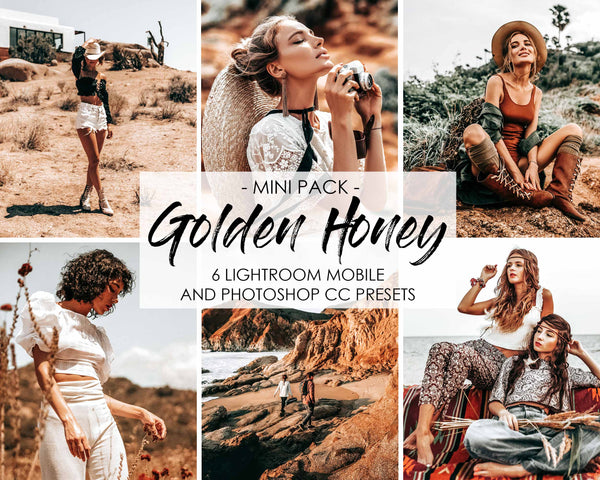Golden Honey Lightroom Presets and Photoshop Filters