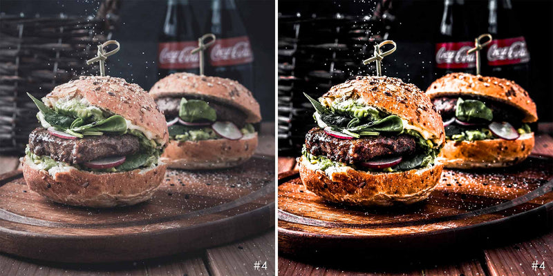 Dark Food Presets For Food Photography On Lightroom And Photoshop