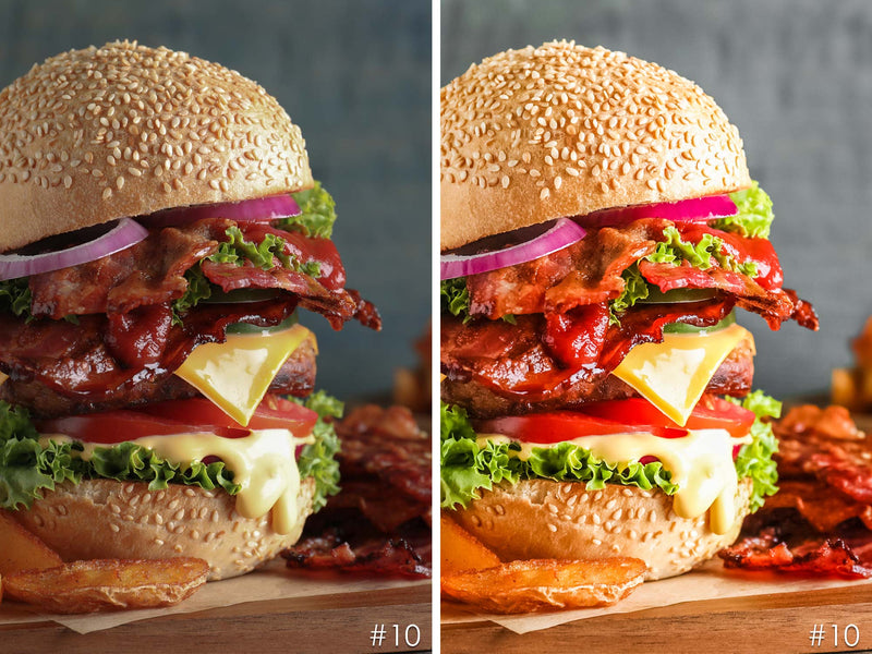 Burger Presets, Fast Food Presets For Lightroom and Photoshop