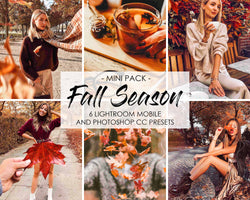 Fall Season Lightroom Presets And Photoshop Filters