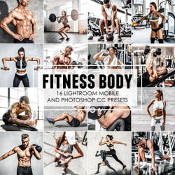 Fitness Body Sports and Workout Lightroom Presets