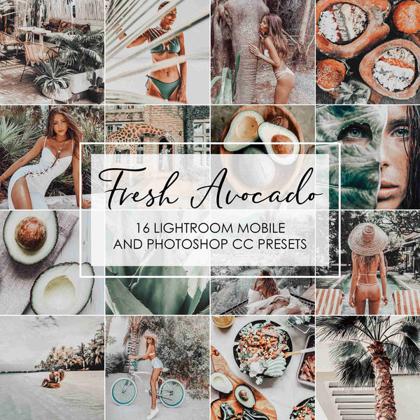 Fresh Avocado Lightroom Presets For Green Tones