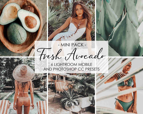 Fresh Avocado Presets For Lightroom And Photoshop