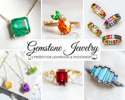 Gemstone Jewelry Presets for Wedding and Product Photography