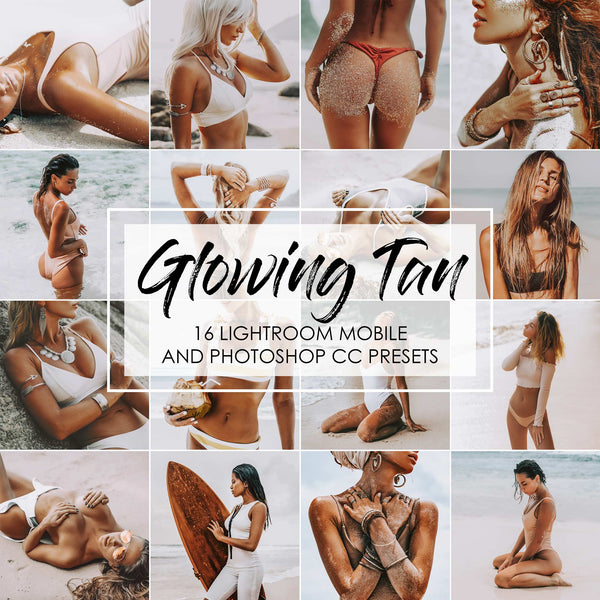 Glowing Tan Lightroom Presets For Summer Influencers In Lightroom Mobile And Desktop