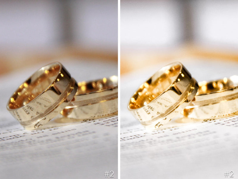 Gold Jewelry Lightroom Presets For Product Photography