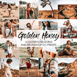 Golden Honey Lightroom Presets For Desktop And Mobile