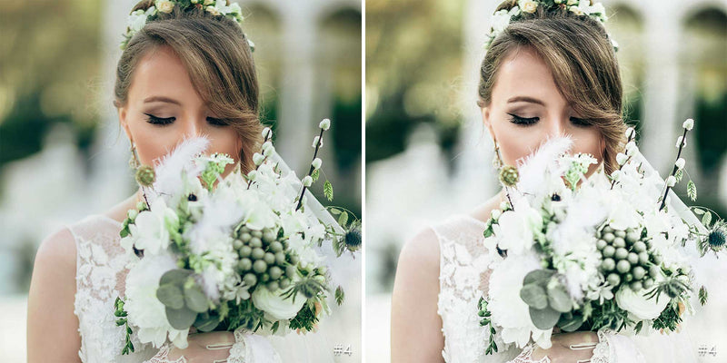 Green Wedding Lightroom Mobile Presets and Photoshop Filters Pack