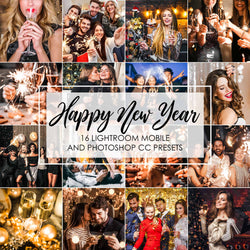 Happy New Year Presets For Lightroom CC And Photoshop