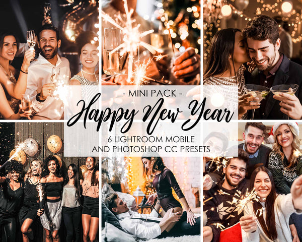 Happy New Year Presets For Adobe Lightroom CC And Mobile Presets