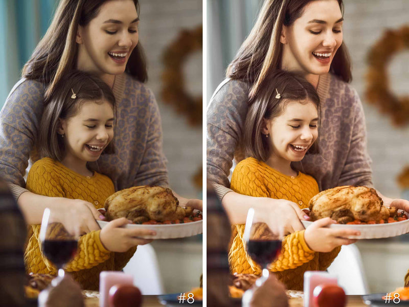 Thanksgiving Presets For Adobe Lightroom CC