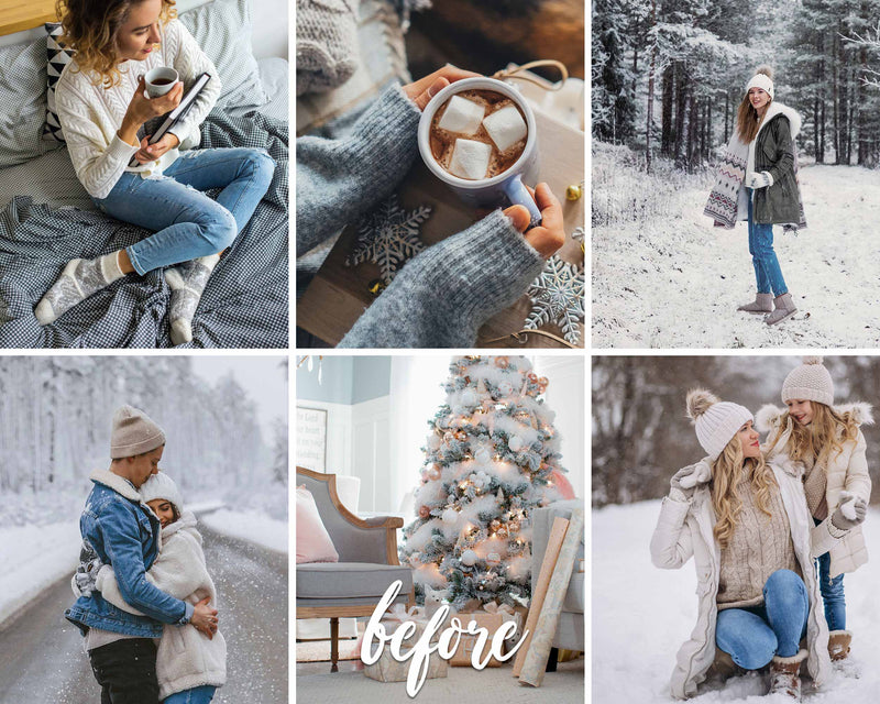 Holiday Dream Preset For Winter Season Presets In Lightroom CC