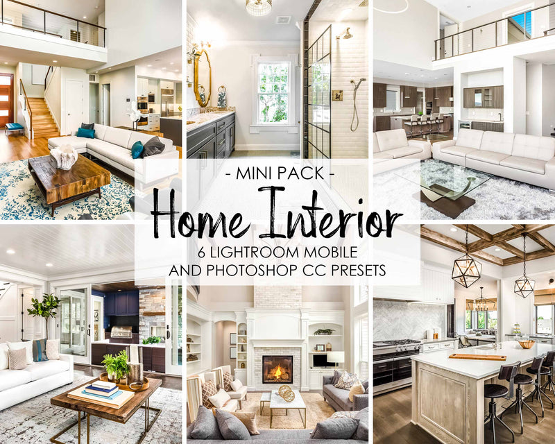 Home Interior Real Estate Lightroom Presets