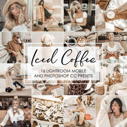 Iced Coffee Presets For Lightroom Mobile And Photoshop Desktop