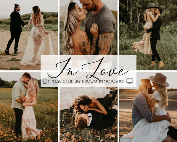 In Love Wedding Presets For Lightroom and Photoshop