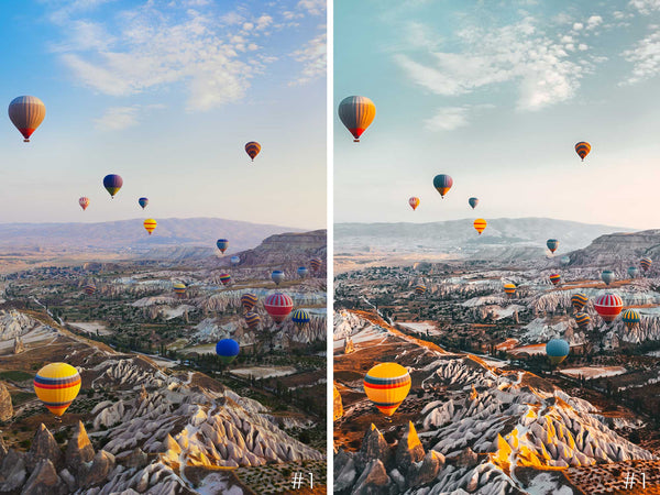 Travel, Landscape and Aerial Presets For Lightroom and Photoshop